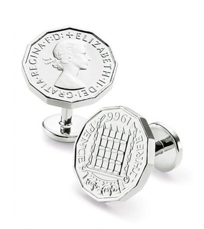 Butoni Charles tyrwhitt -argintati