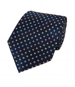 Cravata barbati HAWES & CURTIS - matase 100% -multicolora- SLIM FIT ..